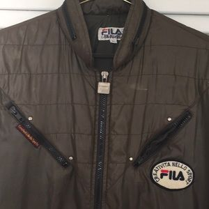 FILA Brownish Green Jacket